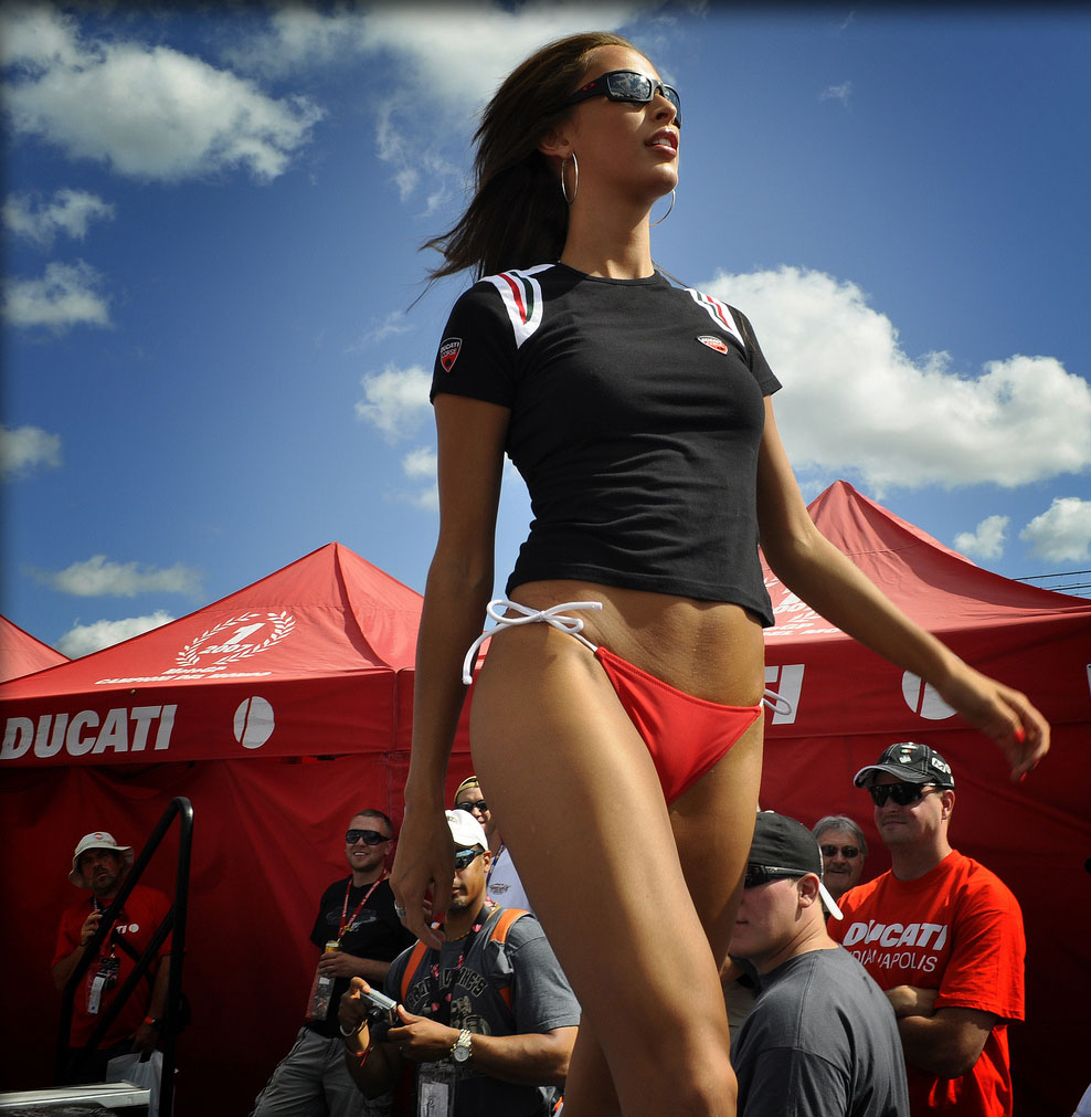 ducati monster2 Ducati Monsters vs Hot Bikini Models