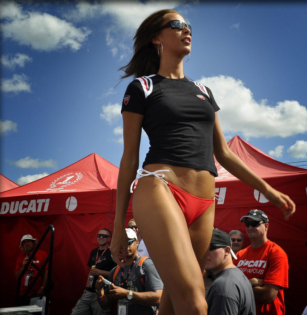 ducati monster2 Ducati Monsters vs Hot Bikini Models