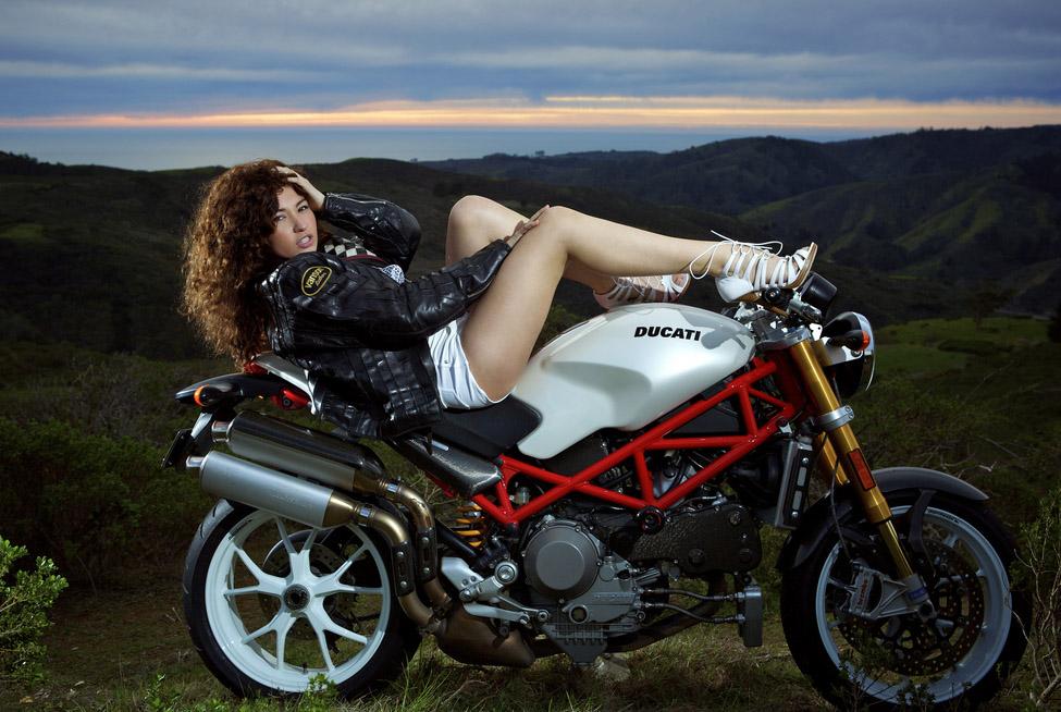ducati monster7 Ducati Monsters vs Hot Bikini Models