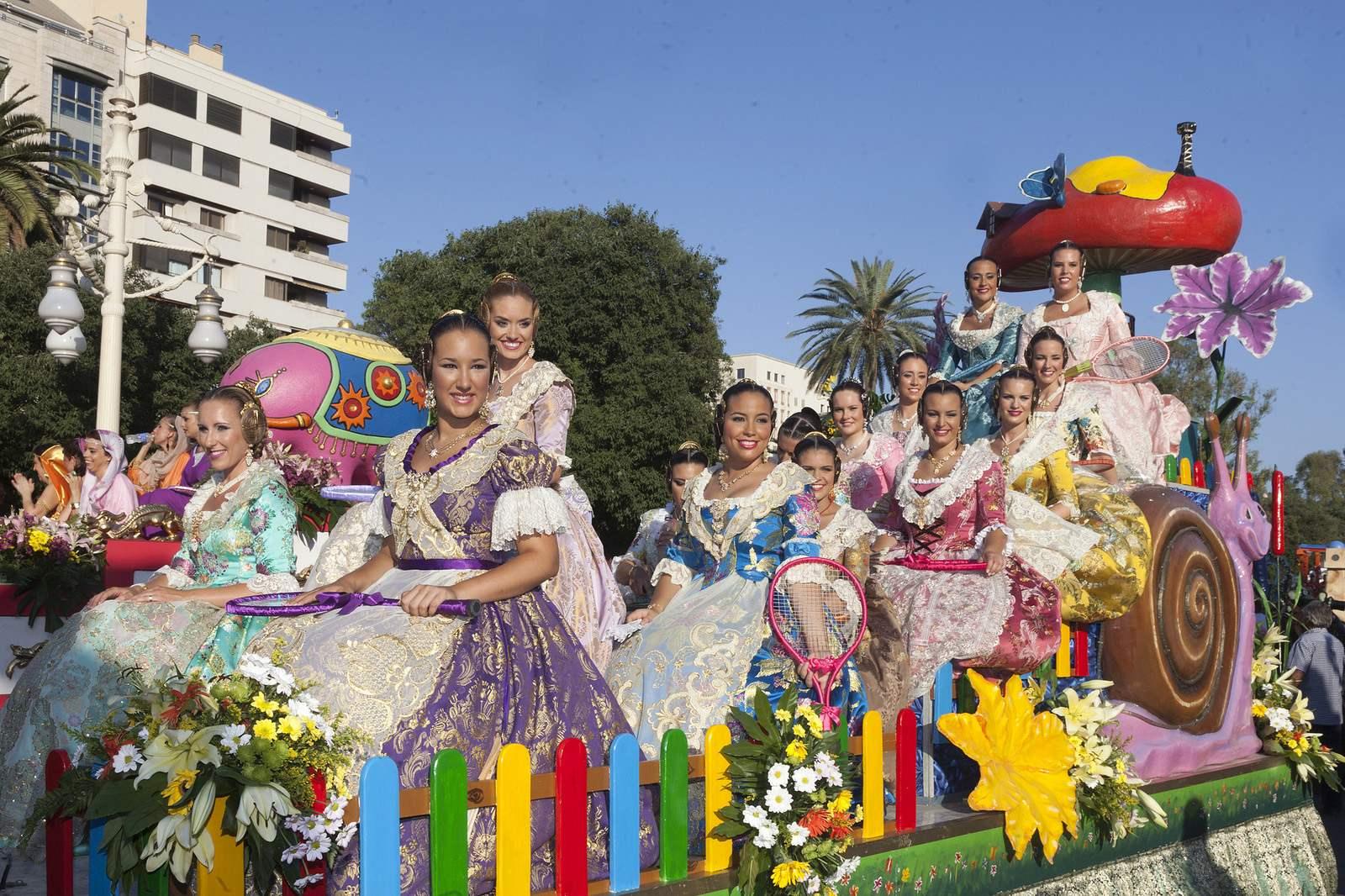 battle of flowers10 Battle of Flowers   Legendary Fiesta in Valencia