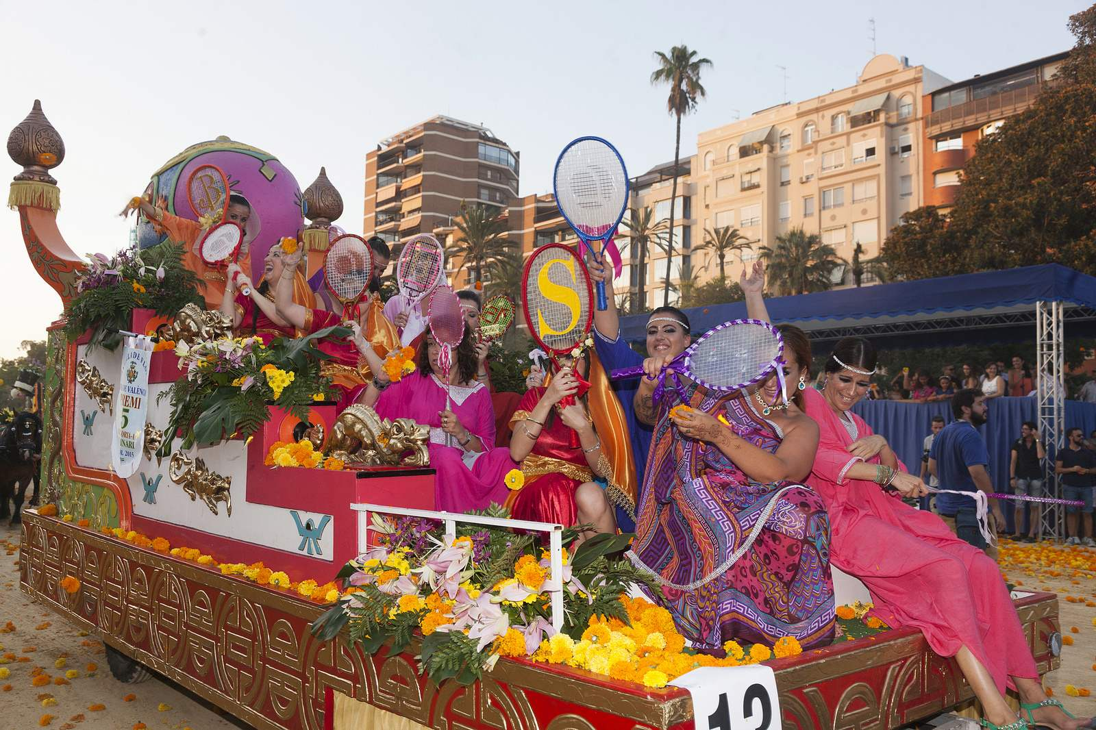 battle of flowers2 Battle of Flowers   Legendary Fiesta in Valencia