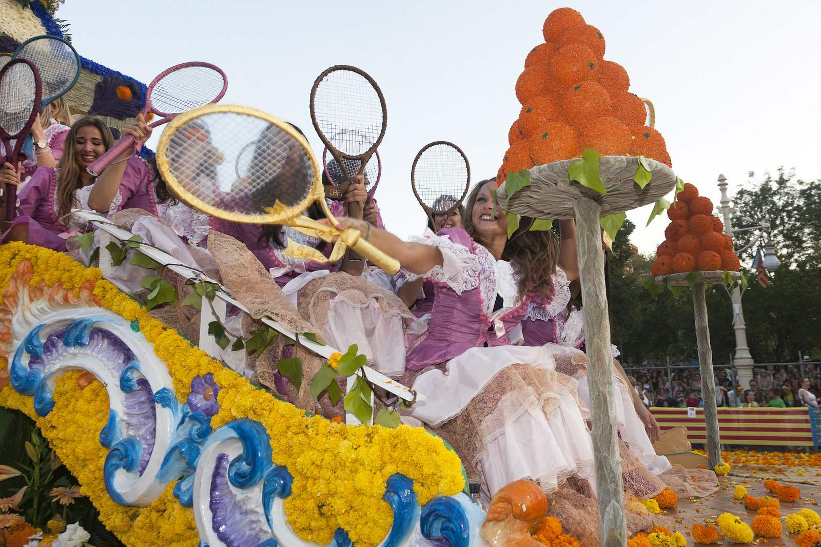battle of flowers4 Battle of Flowers   Legendary Fiesta in Valencia