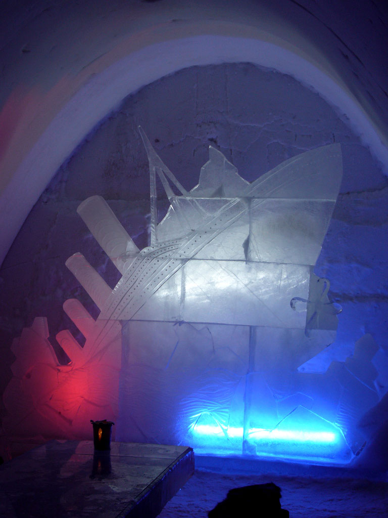 hotel kemi2 Finnish Snow Castle with Ice Bar