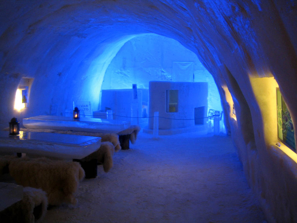 hotel kemi3 Finnish Snow Castle with Ice Bar