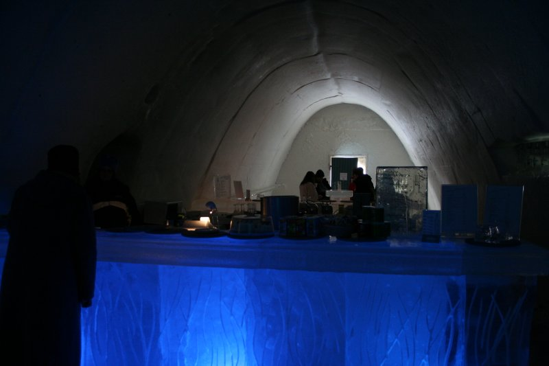 hotel kemi4 Finnish Snow Castle with Ice Bar