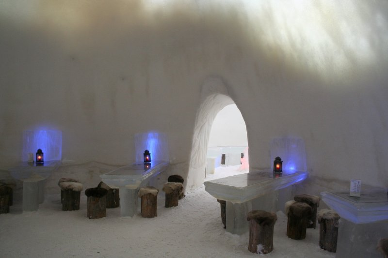hotel kemi5 Finnish Snow Castle with Ice Bar
