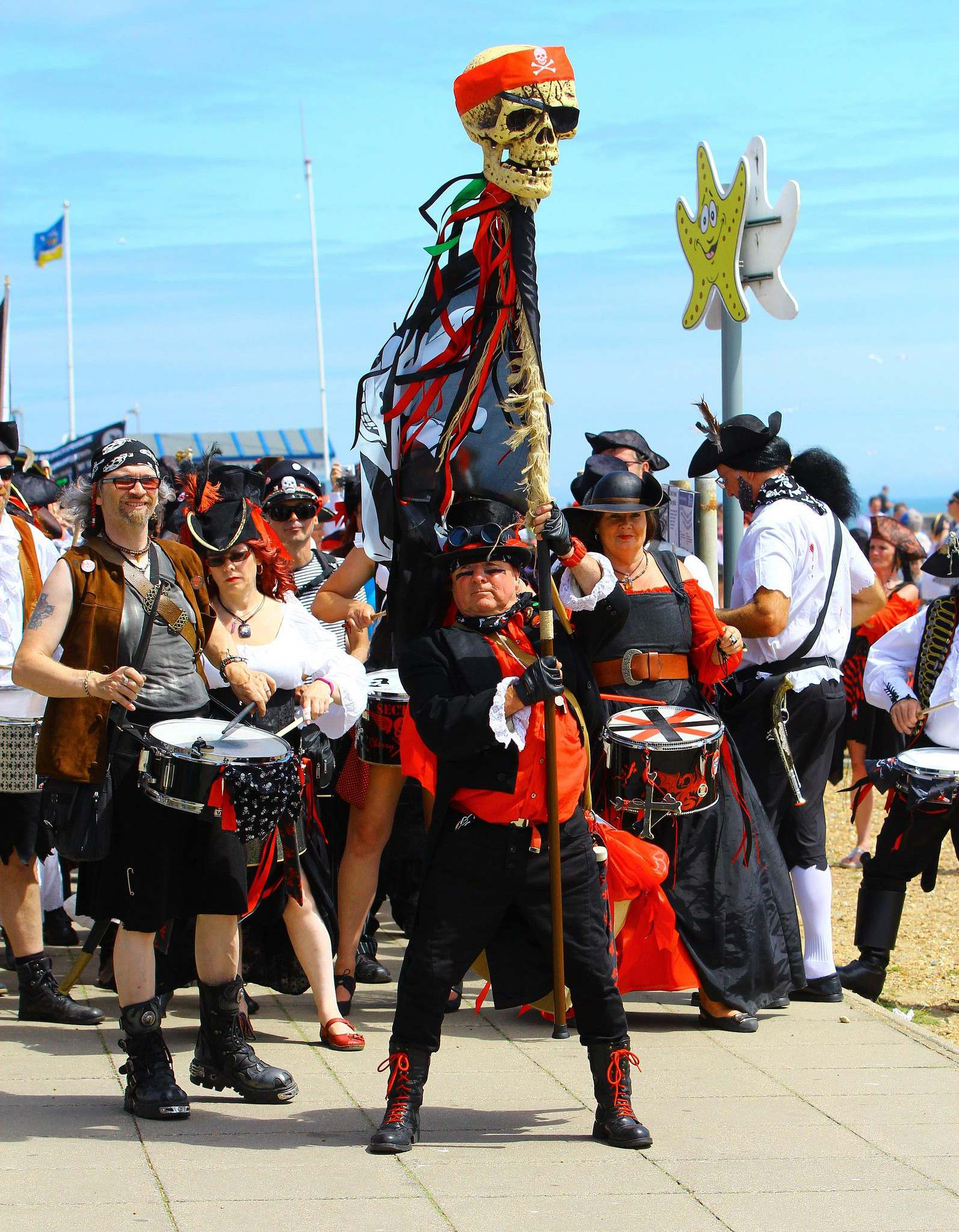 pirate 20166 Hastings Pirate Day 2016