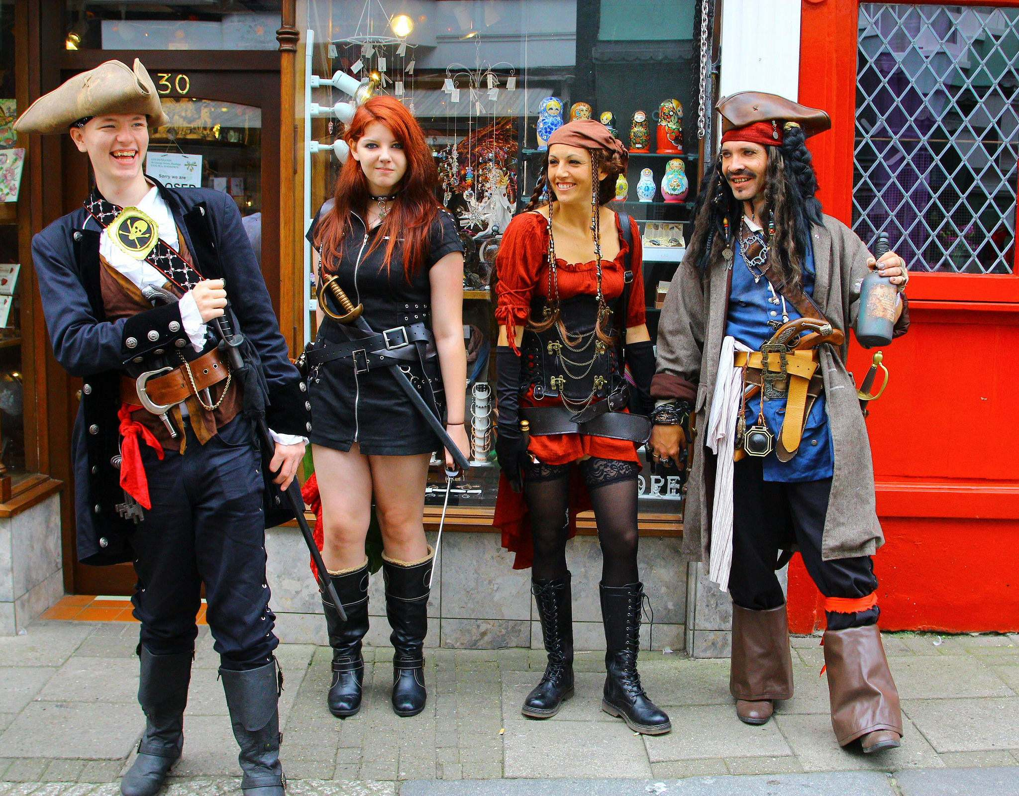 pirate 20169 Hastings Pirate Day 2016
