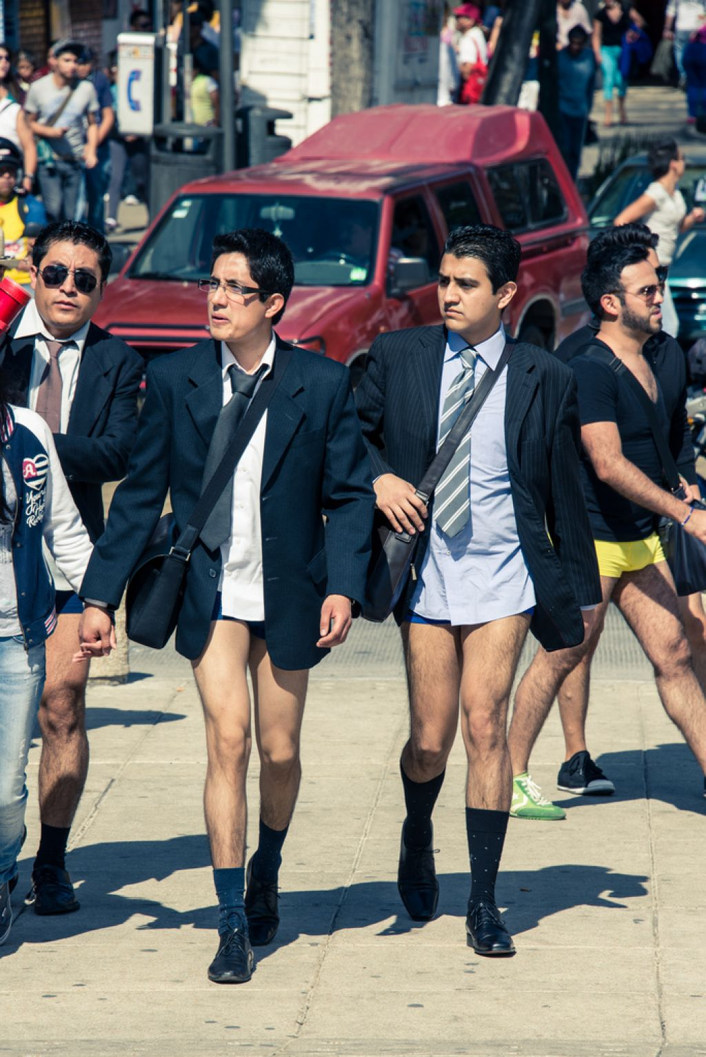 no pants No Pants Day in Mexico City