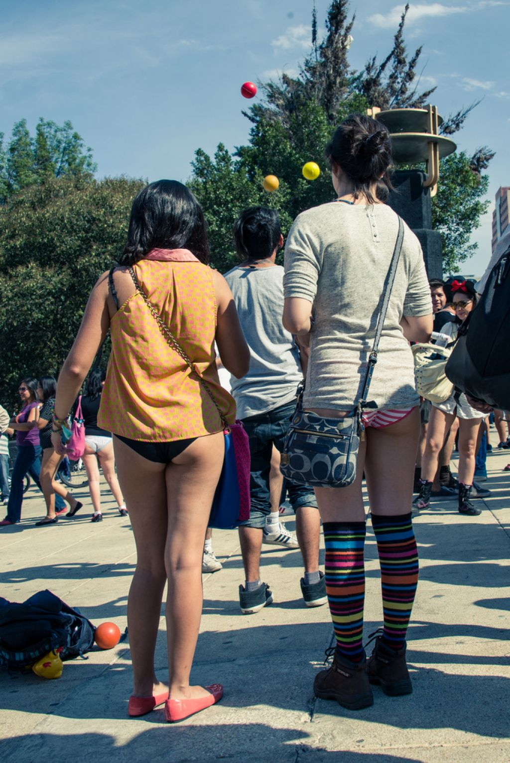 no pants1 No Pants Day in Mexico City