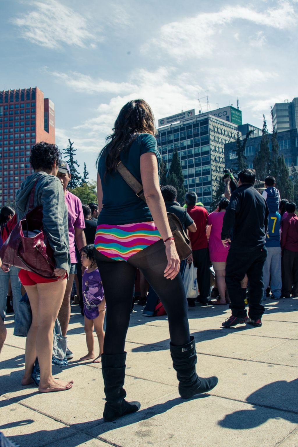 no pants10 No Pants Day in Mexico City