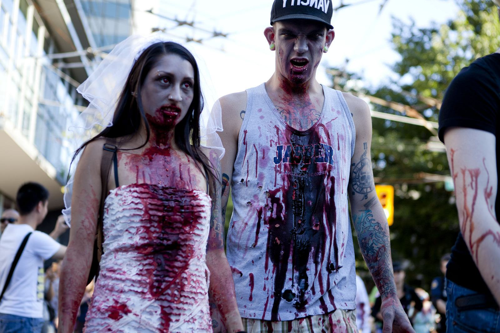 zombie Vancouvers Biggest Zombie Walk 2014