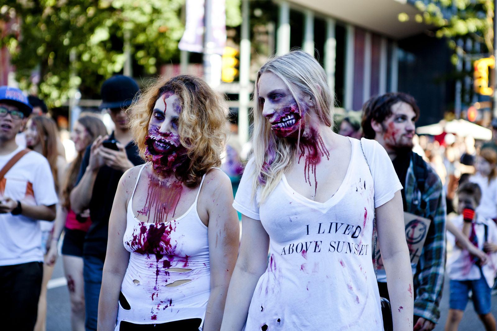 zombie1 Vancouvers Biggest Zombie Walk 2014