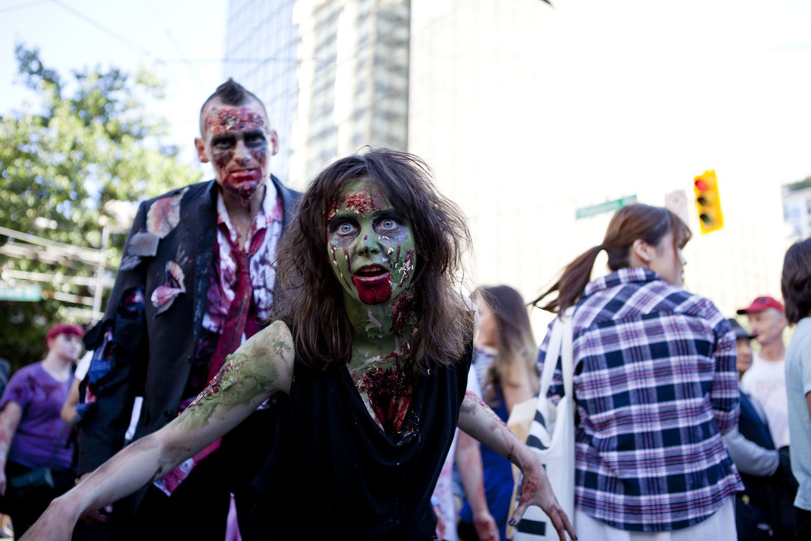 zombie3 Vancouvers Biggest Zombie Walk 2014