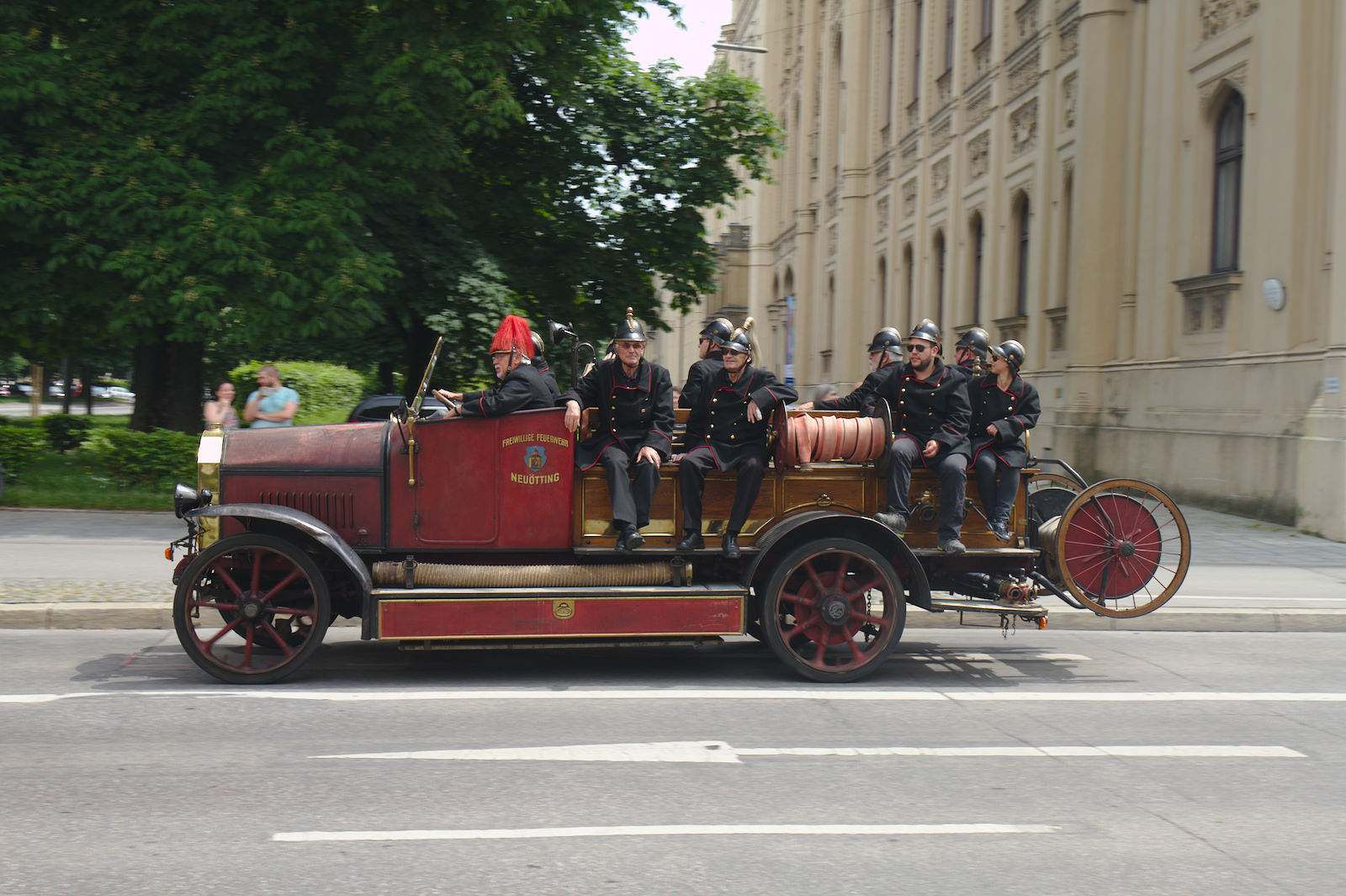 volunteer fire department3 150 Years Volunteer Fire Department in Munich