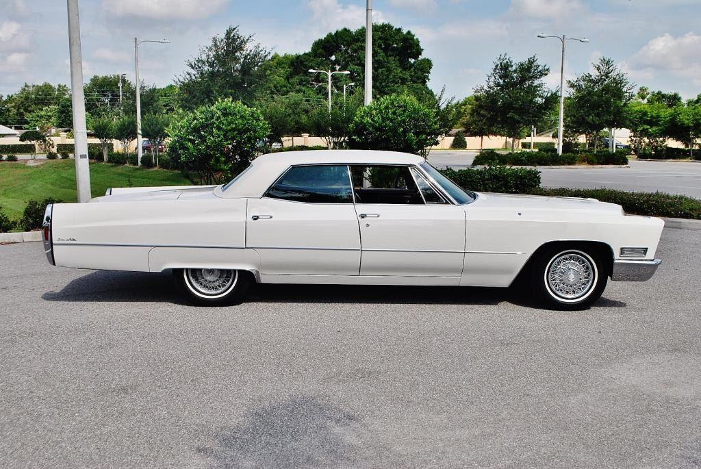 cadillac deville2 1968 Cadillac DeVille Hardtop Sedan