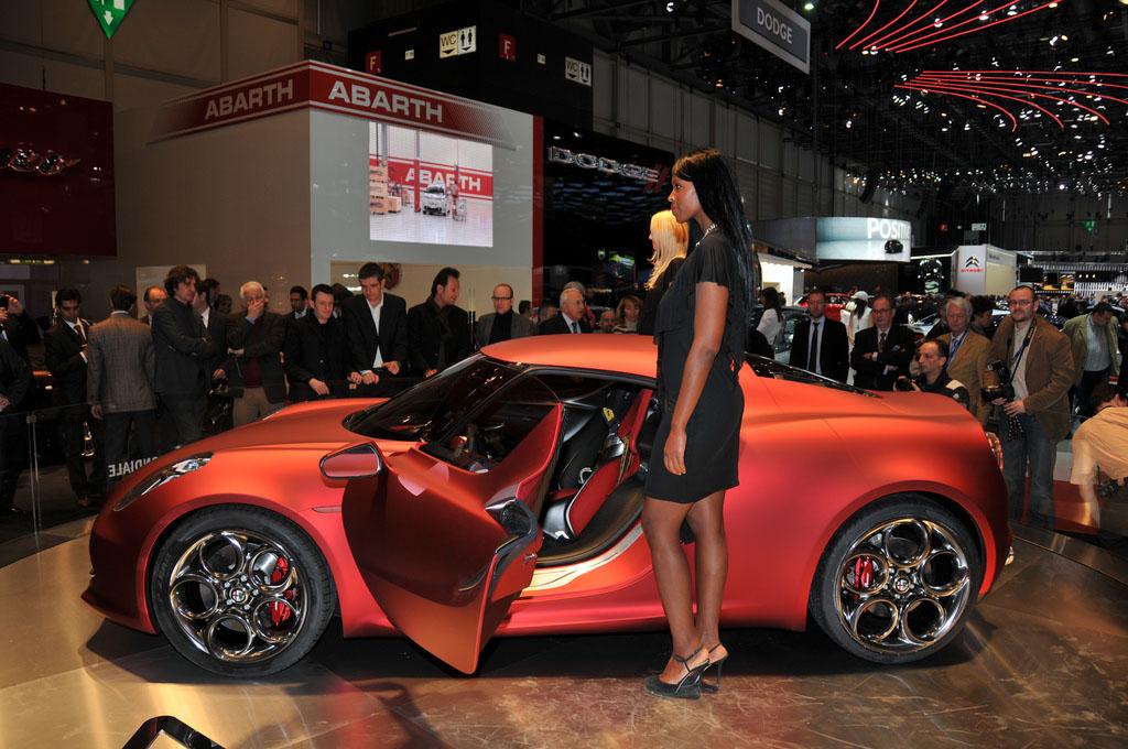 alfa romeo 4c4 Amazing Alfa Romeo 4C Concept