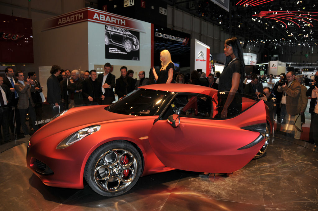 alfa romeo 4c5 Amazing Alfa Romeo 4C Concept