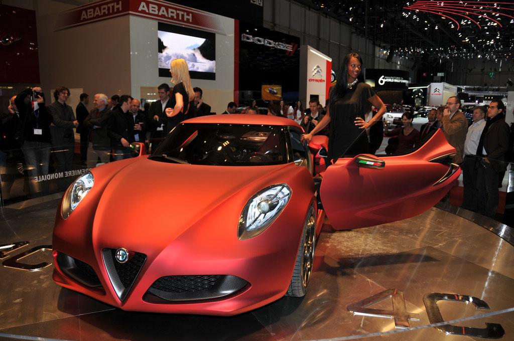 alfa romeo 4c6 Amazing Alfa Romeo 4C Concept