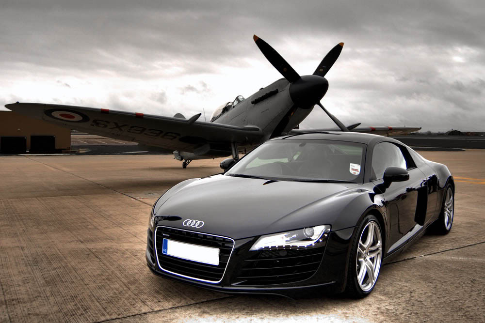 audi r8 wallpaper10 Audi R8   SportsCar of The Year