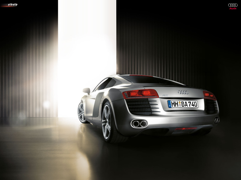audi r8 wallpaper2 Audi R8   SportsCar of The Year