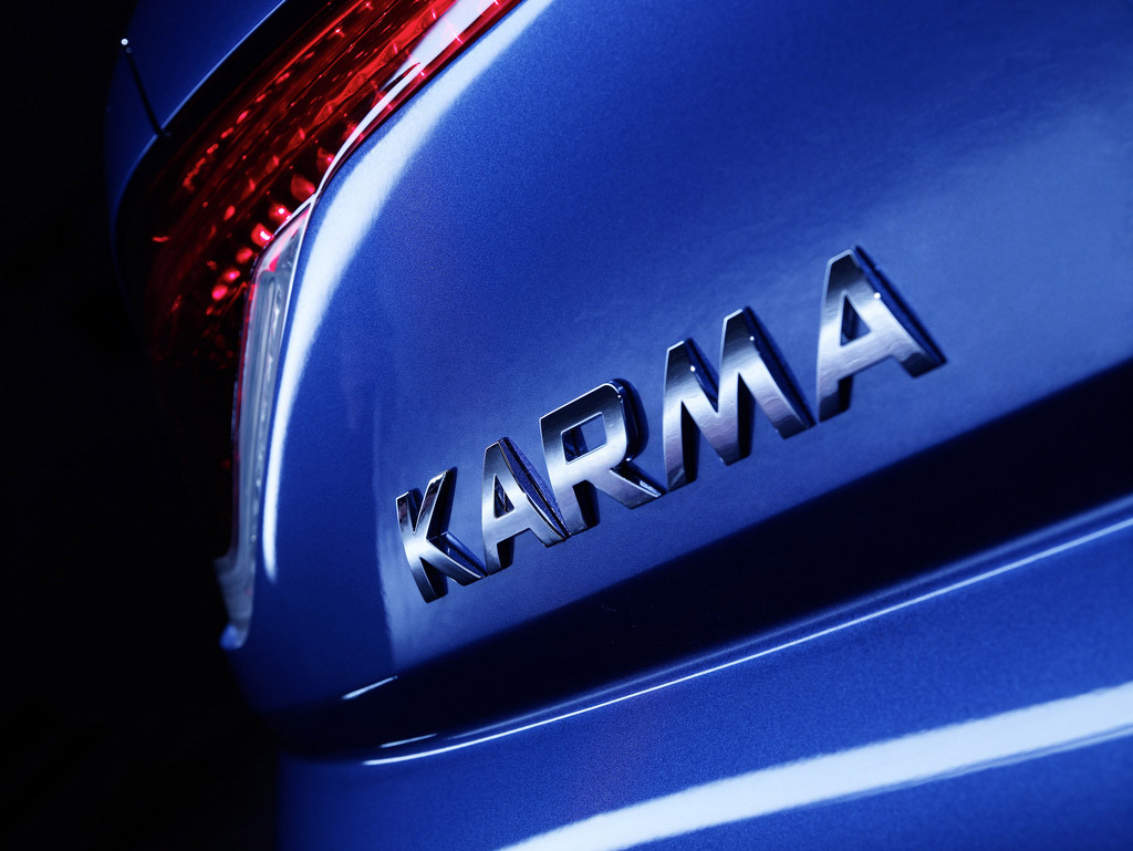 fisker karma8 Blue Fisker Karma with Q Drive
