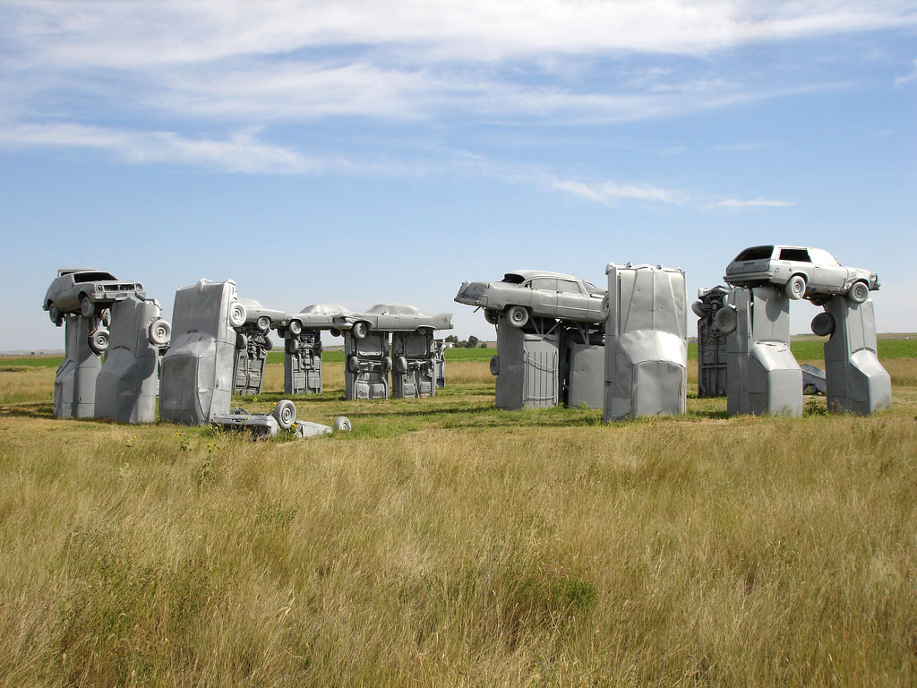carhenge Car Replica of Stonehenge, Nebraska