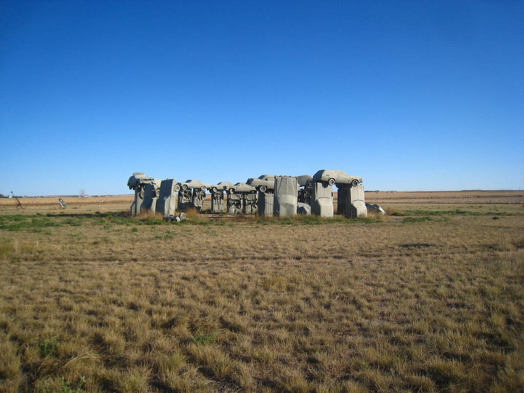 Обои Carhenge near Alliance, Nebraska. Разное foto 13