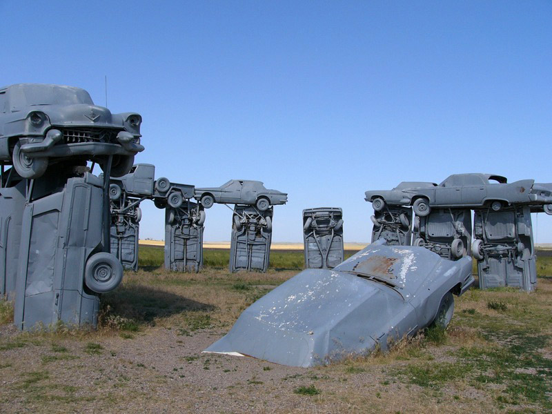 carhenge2 Car Replica of Stonehenge, Nebraska