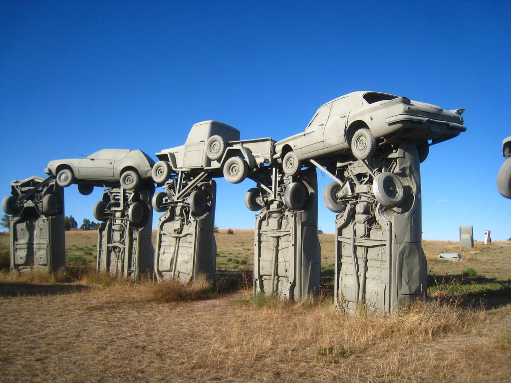 carhenge3 Car Replica of Stonehenge, Nebraska
