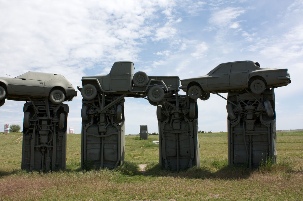 carhenge4 Car Replica of Stonehenge, Nebraska