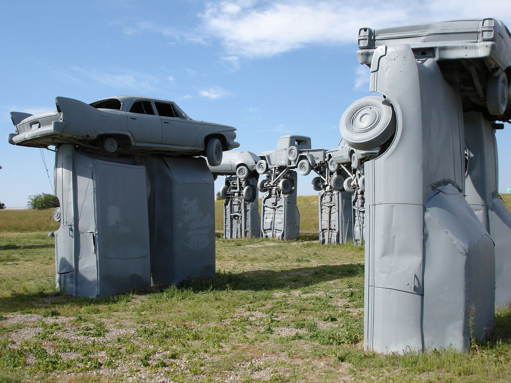 carhenge7 Car Replica of Stonehenge, Nebraska