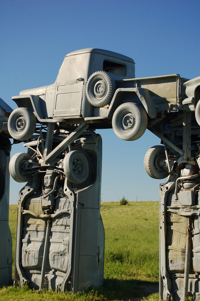 carhenge8 Car Replica of Stonehenge, Nebraska