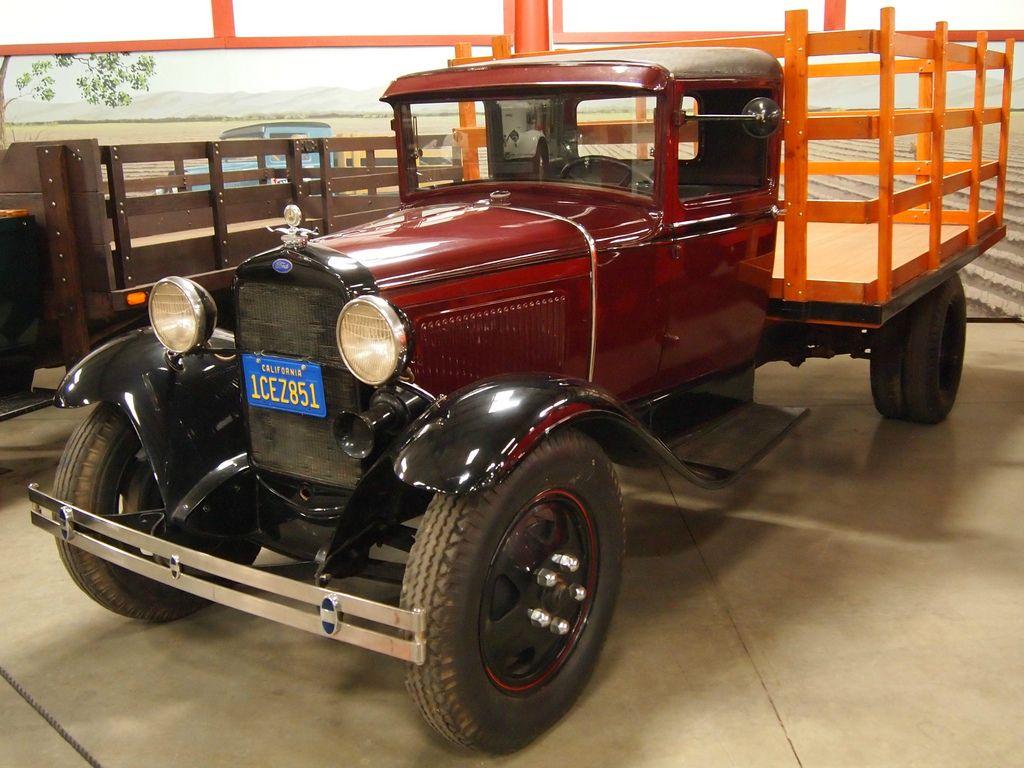 classic trucks Classic Trucks in Hays Antique Museum, California