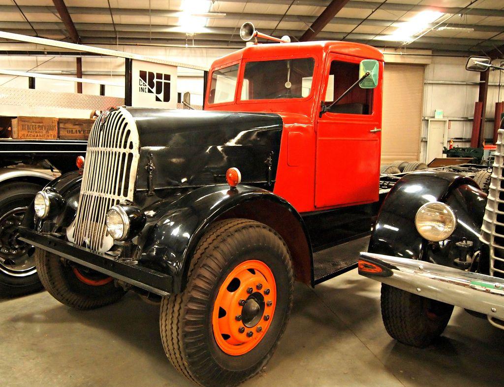 classic trucks12 Classic Trucks in Hays Antique Museum, California
