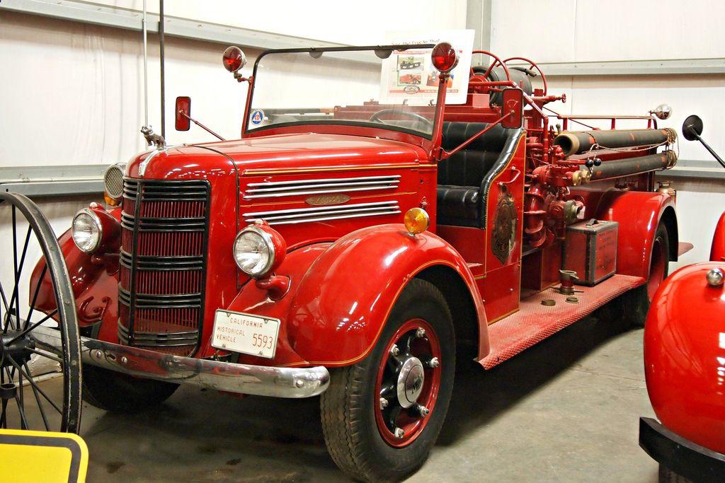 classic trucks16 Classic Trucks in Hays Antique Museum, California