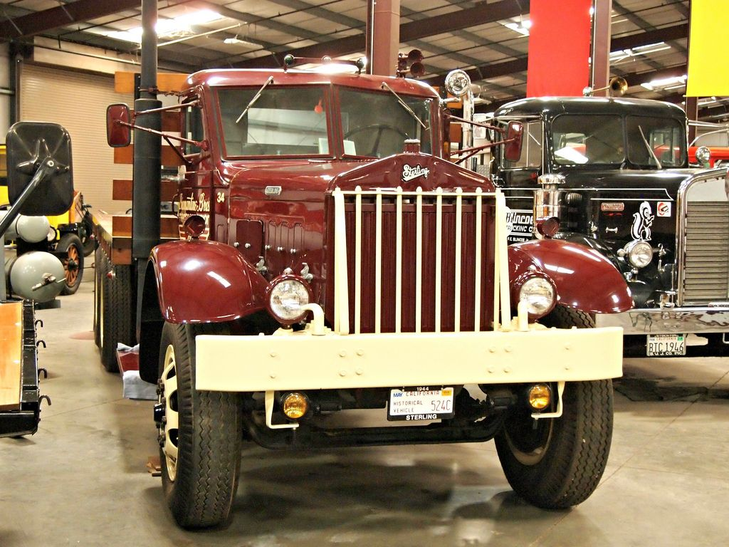 classic trucks18 Classic Trucks in Hays Antique Museum, California