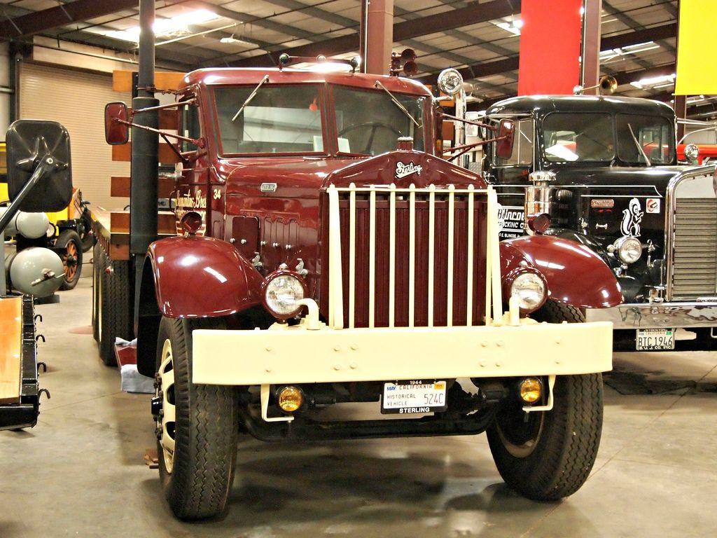 classic trucks18 Classic Trucks in Hays Antique Museum, California