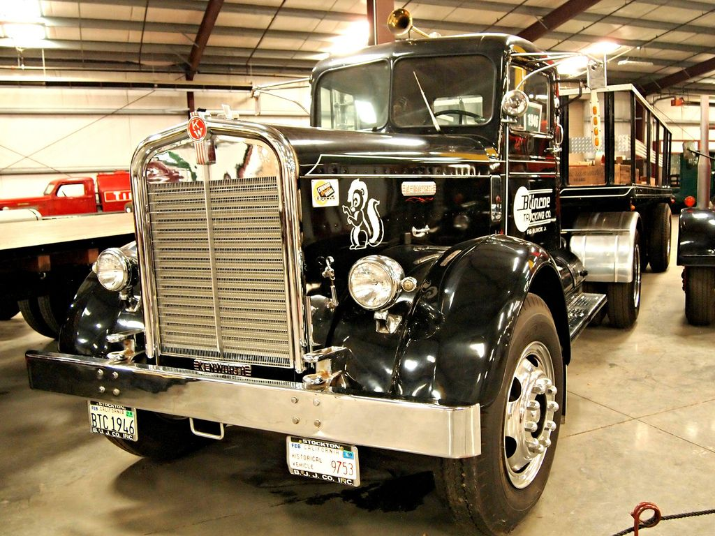 classic trucks19 Classic Trucks in Hays Antique Museum, California