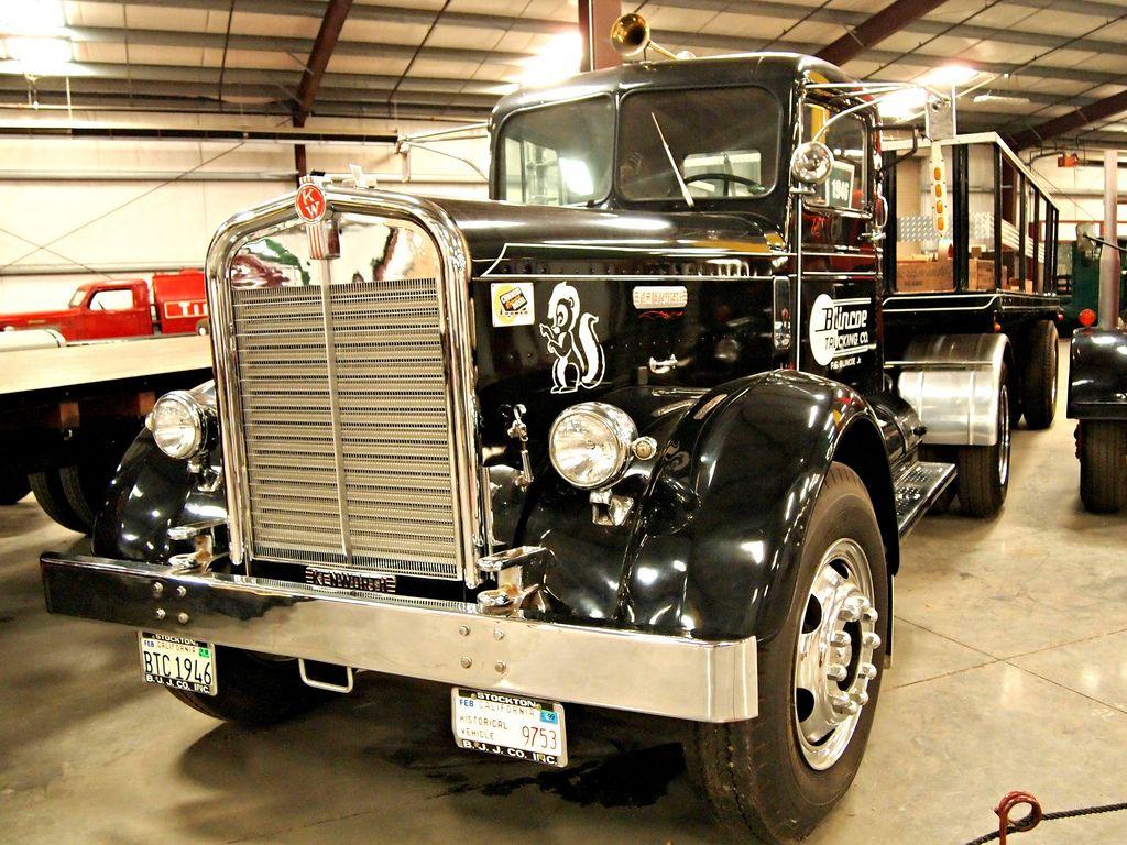 classic trucks19 Classic Trucks in Hays Antique Museum, California