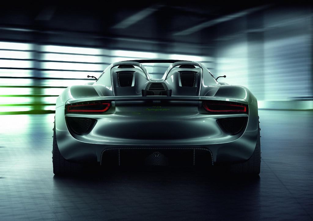 porsche 918 spyder5 Dream cars: Porsche 918 Spyder