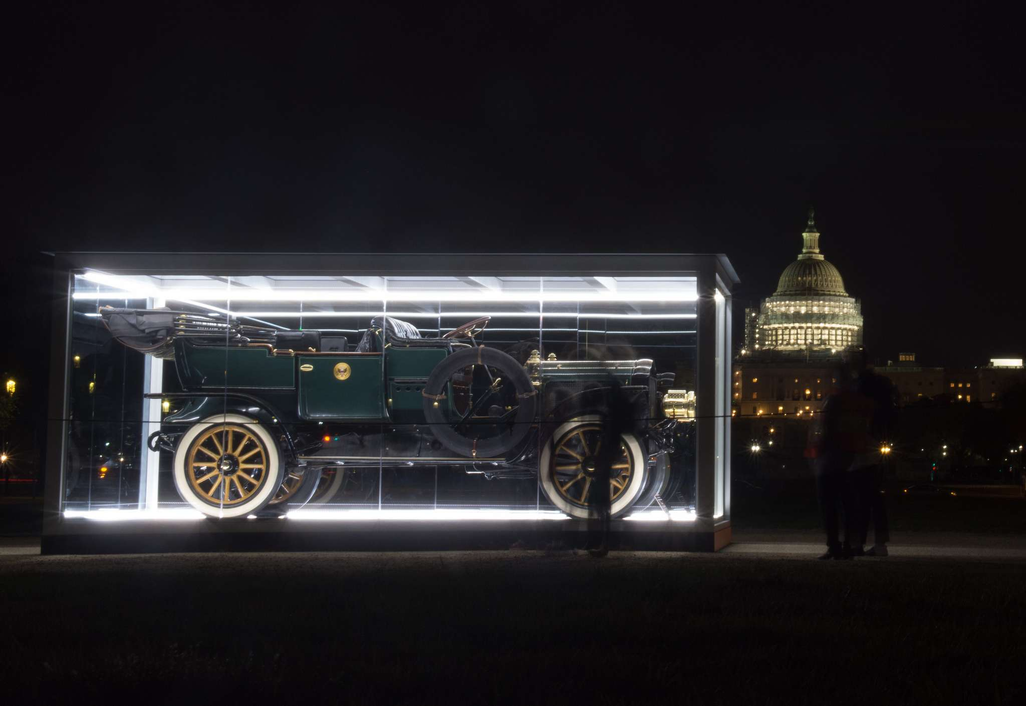 taft steam car2 Exhibition of Presidential Taft Steam Car at the National Mall