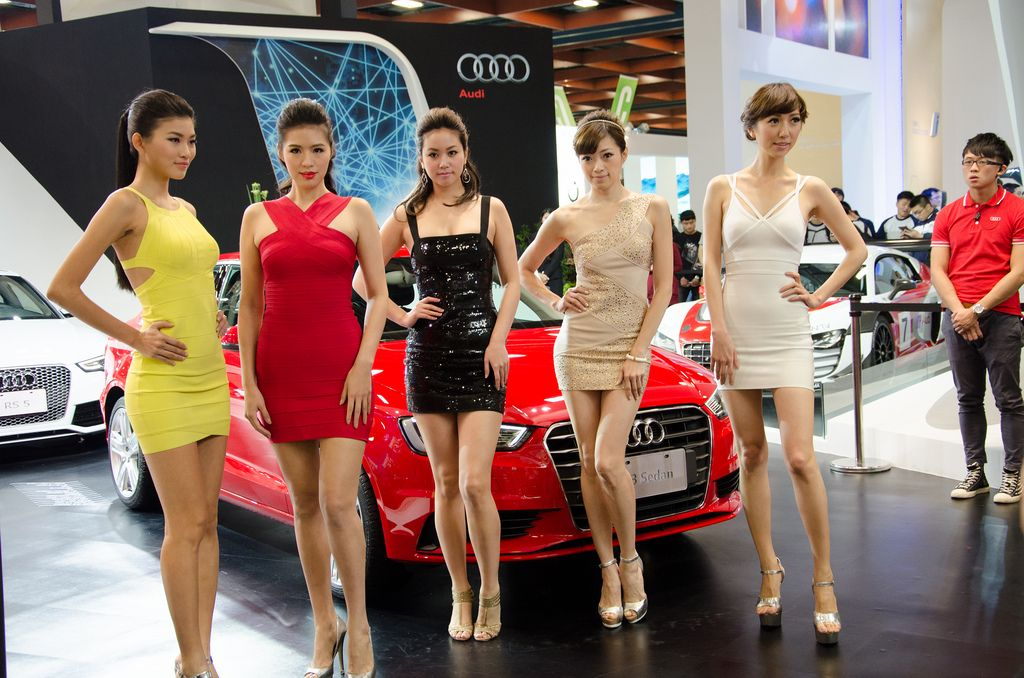 taipei international auto show Girls of 2014 Taipei International Auto Show