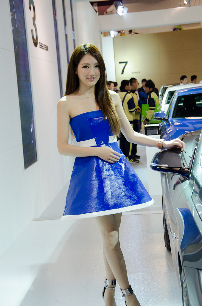 taipei international auto show11 Girls of 2014 Taipei International Auto Show