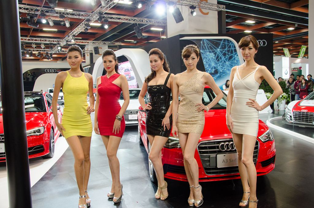 taipei international auto show12 Girls of 2014 Taipei International Auto Show