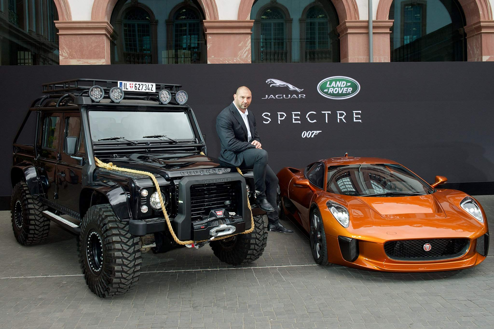 spectre car1 Jaguar Land Rover Latest Bond Cars