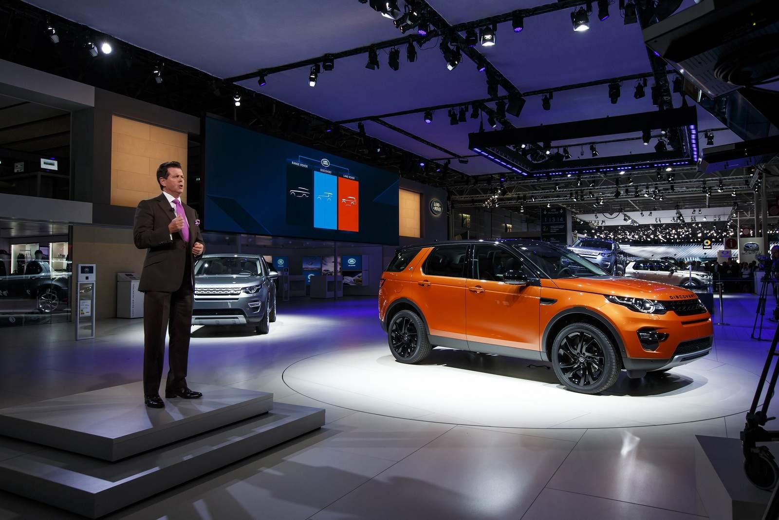 paris motor show5 Jaguar and Land Rover at Paris Auto Show 2014