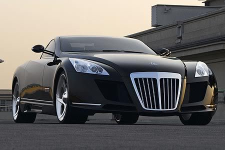 maybach exelero Maybach Exelero   8 Milion Dollar Car