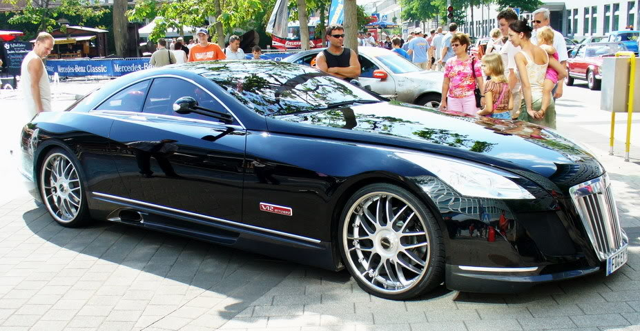 maybach exelero11 Maybach Exelero   8 Milion Dollar Car