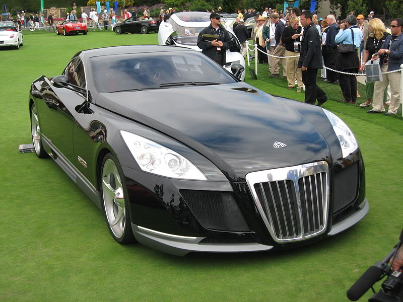 maybach exelero12 Maybach Exelero   8 Milion Dollar Car